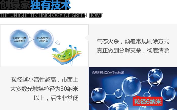 创绿家技术